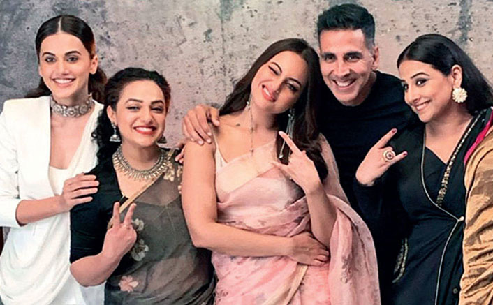 Picture of Akshay Kumar With Sonakshi Sinha